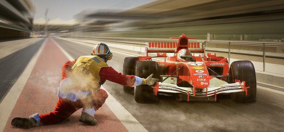 Racing, Formula 1, Pit Lane, Ferrari, Speed, Vehicle